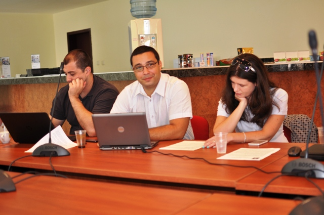 Младите докторанти от УНСС.